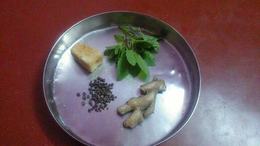 chukku kaappi or dry ginger coffee for babies