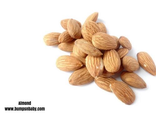 home made cerelac almonds