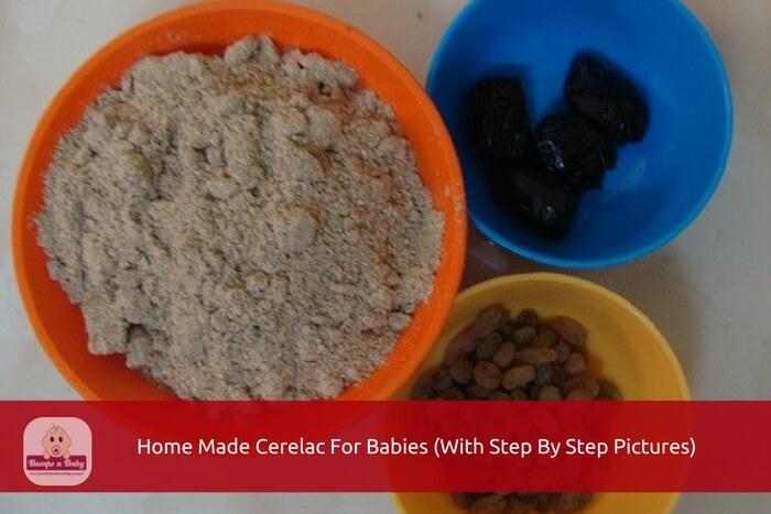 home made cerelac recipe