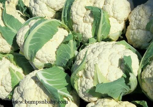 iron rich cauliflower