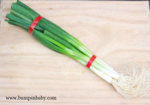 iron rich spring onion