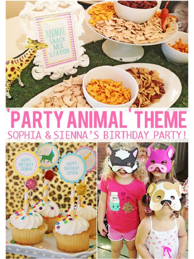 Party Animal Theme-Thebusybudgetingmama1