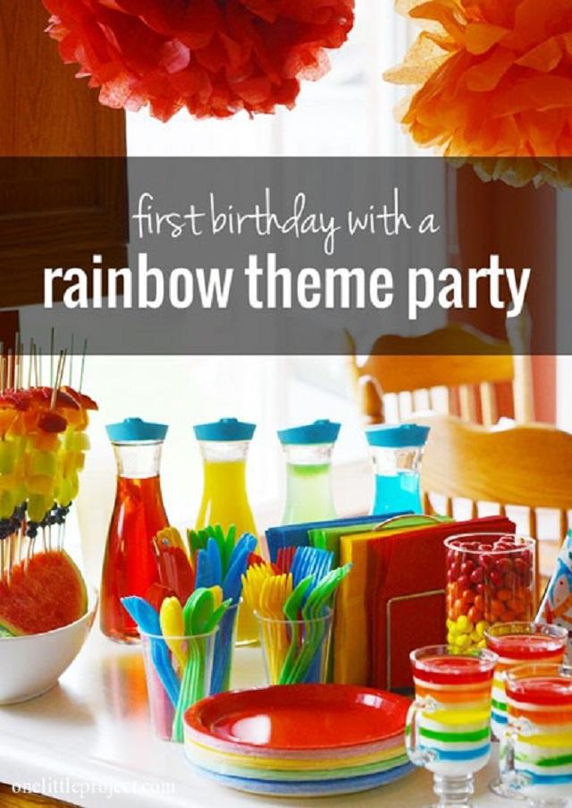 Rainbow-theme-first-birthday-party