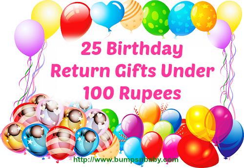 birthday return gifts under 100 rupees