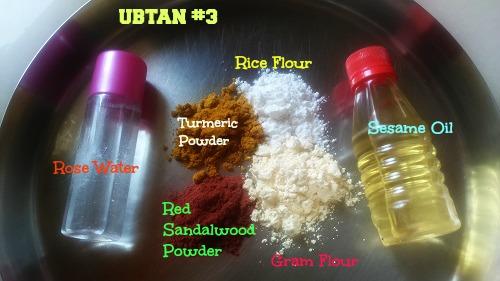 ubtan recipes