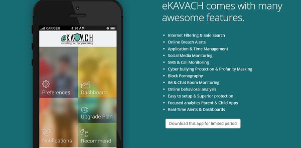 ekavach app