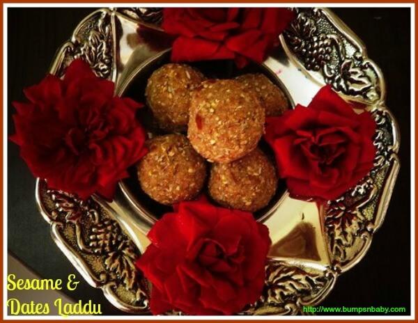 dates sesame laddu