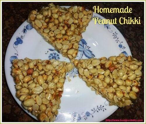 homemade peanut chikki recipe