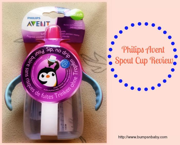philips avent spout cup