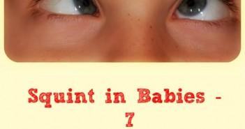 squint in babies