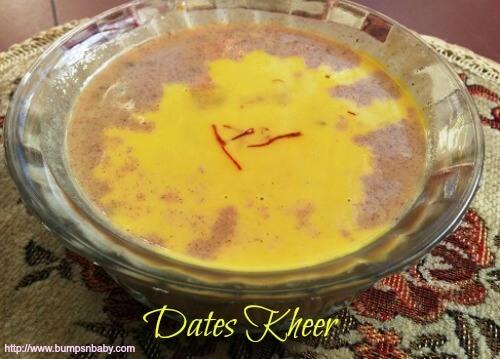 dates kheer recipe