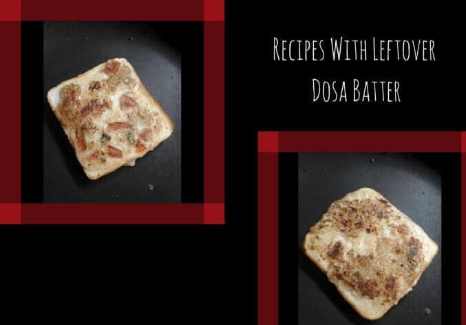 leftover dosa batter recipes