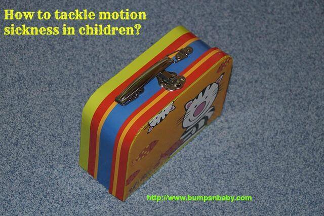 motion sickness in children