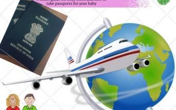 passport for babies in India