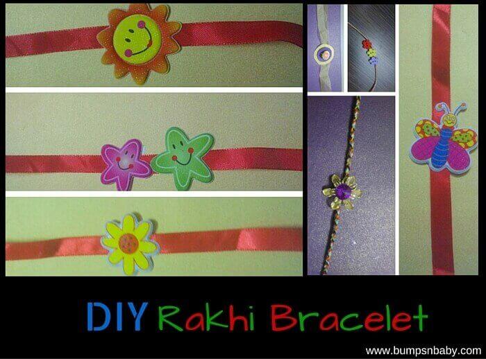DIY rakhi ideas