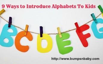 teach alphabets to kids