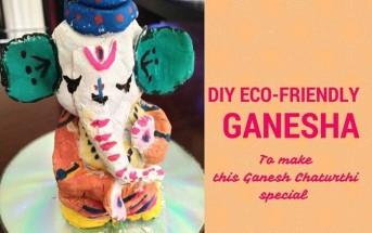 DIY Clay Ganesha