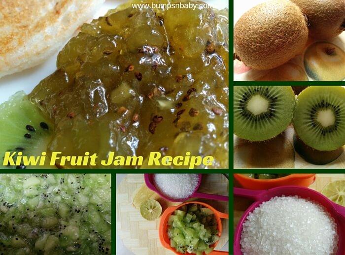 homemade kiwi fruit jam recipe