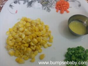 sweet corn recipe for babies