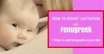 fenugreek to increase breast milk