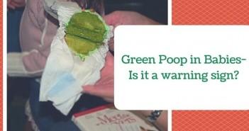 green poop in babies
