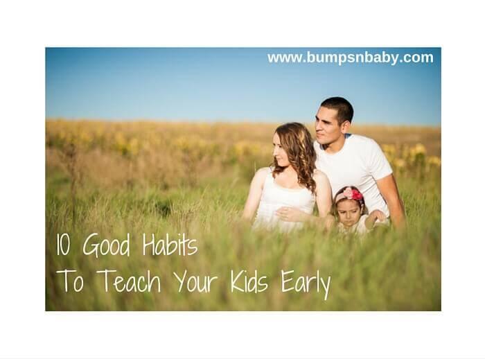 habits to instill in children