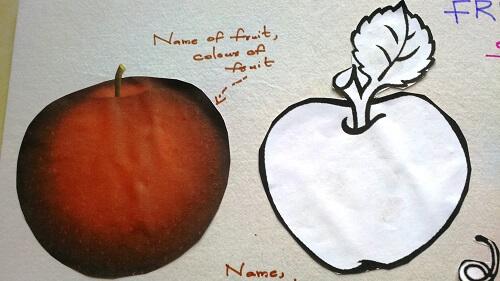 close up of fruits and description