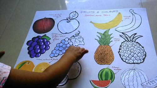 fruits to kindergarten