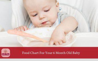 6 month old feeding schedule