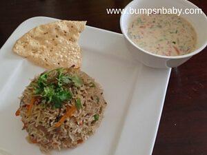 vegetable pulao ready