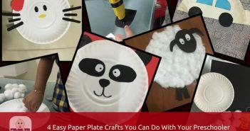 paper plate craft for preschoolers