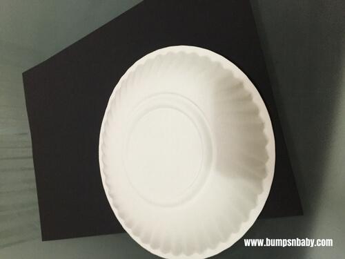 paper plate craft panda