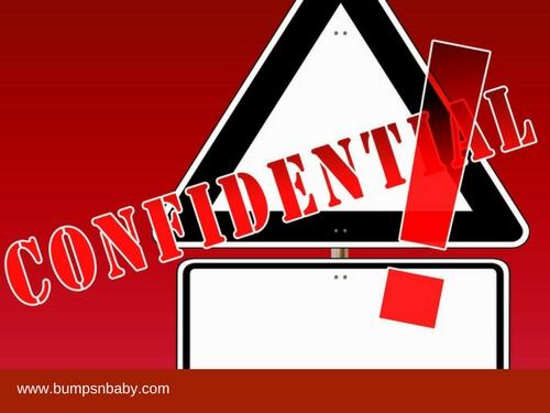 social media safety confidential information