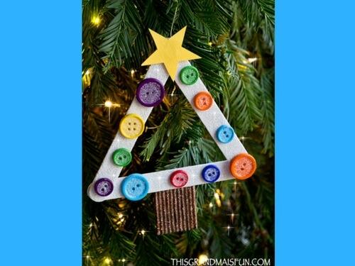 Christmas crafts for kids DIY christmas ornament