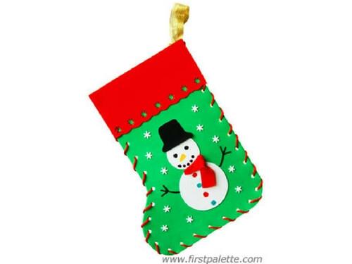 Christmas crafts for kids DIY stocking