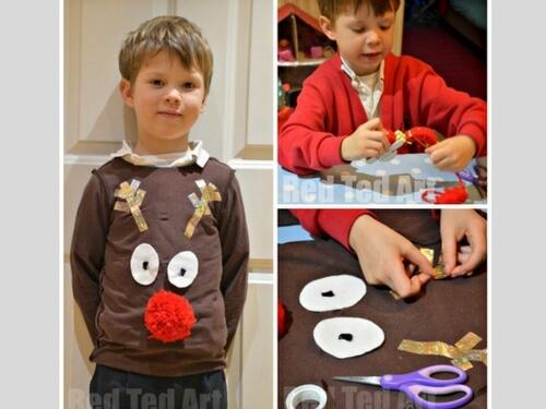 Christmas crafts for kids christmas dress