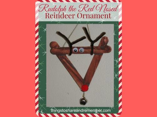 Christmas crafts for kids reindeer