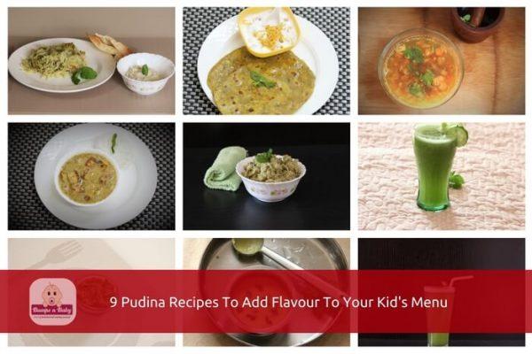 pudina recipes for kids