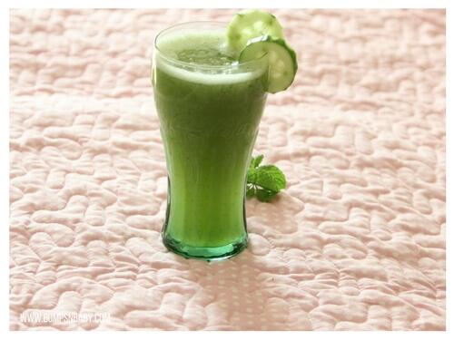 pudina recipes mint cucumber juice