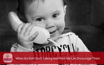 when do kids start talking