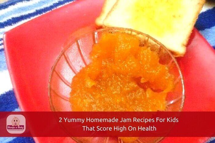 homemade jam recipes for kids