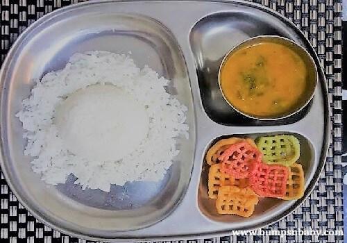 rice fenugreek sambar