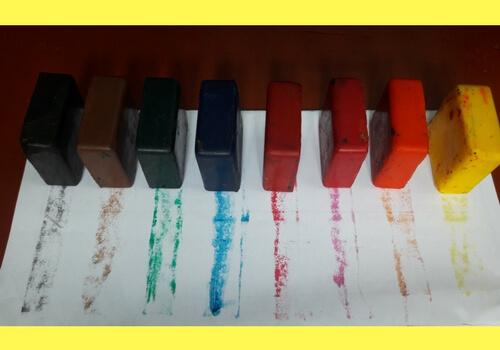 azafran organic crayons