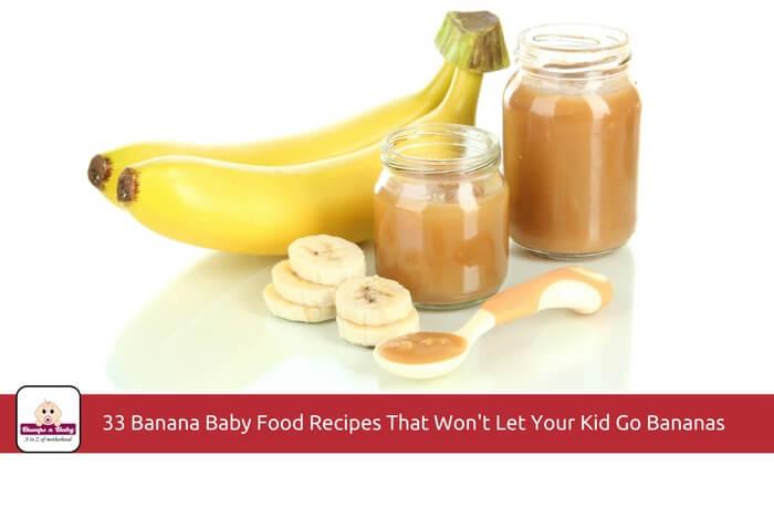 banana baby food recipes
