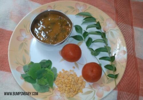 drumstick leaves sambar recipe