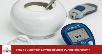 Low blood sugar during pregnancy