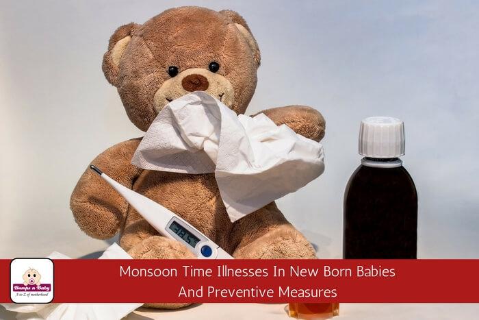 monsoon time illnesses in newborn babies