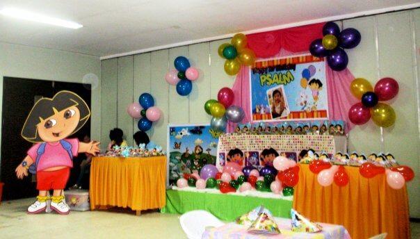 Dora birthday party themes for girls