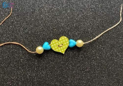 DIY Raksha Bandhan gifts beads rakhi
