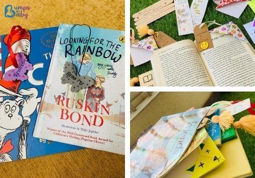 DIY Raksha Bandhan gifts bookmarks
